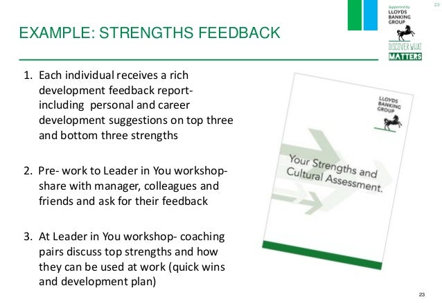 individual strength assessment By learning about the individual and identifying strengths and resources, instead  strength discovery and needs assessment is a process for creating a profile of a .