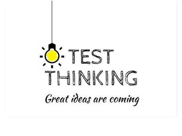 "-if TEST  ""i'HiNl<iG  Great idea;  are coming"
