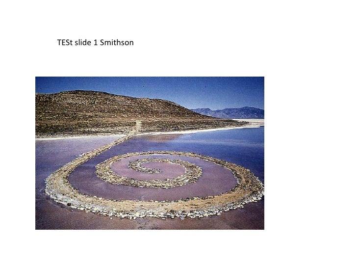 Lalalal Test 123<br />From Diane Mello<br />TESt slide 1 Smithson<br />