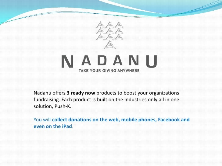 Nadanu Getting Started Guide