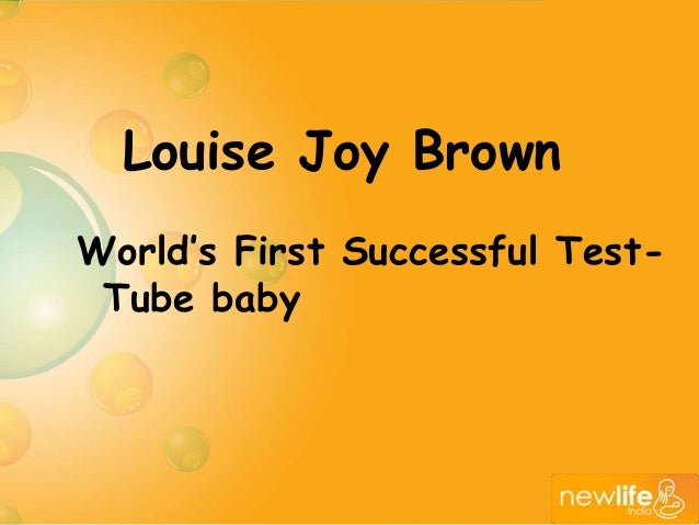 essay test tube baby Women: the longest revolution first published: would liberate test-tube babies, baby-farms (jean baby, speaking of the post.