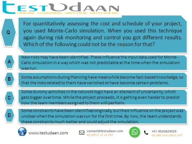 PMP Quiz - Question #4