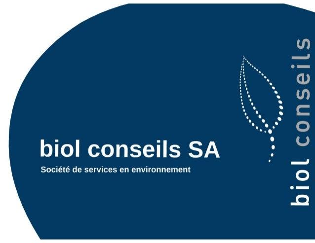 Rencontres ASIT VD - biodiversité et aménagement - Nicolas FAWER & Baptiste MILLEREUX Slide 2