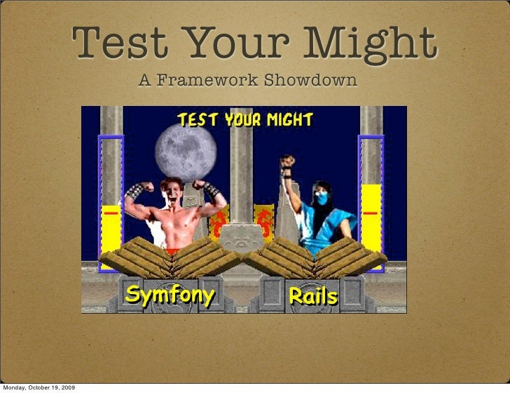 Test Your Might - Framework Combat