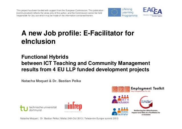 This project has been funded with support from the European Commission. This publication [communication] reflects the view...