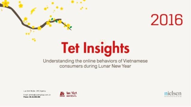 • • • • • • • • • nielsen Understanding the online behaviors of Vietnamese consumers during Lunar New Year ' I '••• • • • ...