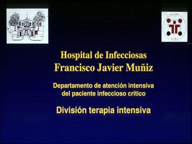 Tètanos    Hospital F.J MuñizDivisiòn Terapia Intensiva