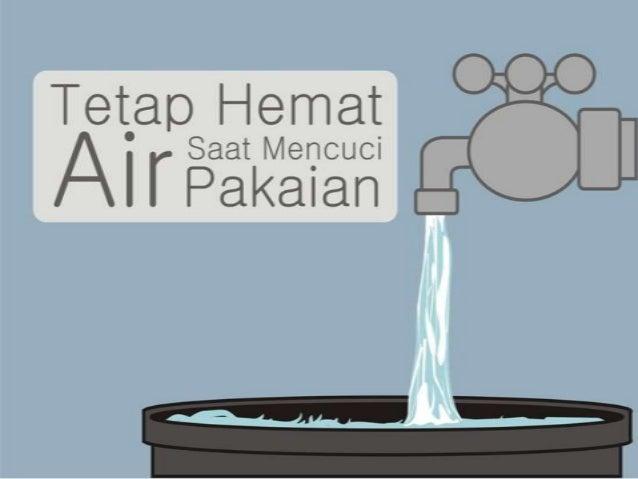 Tetap hemat air saat mencuci pakaian