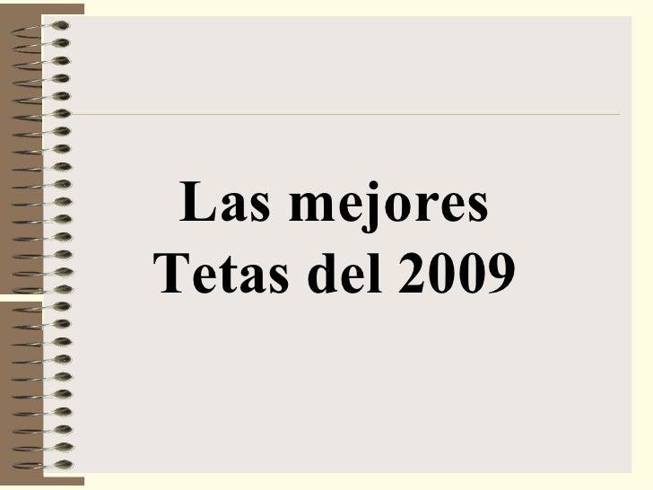 Las mejores Tetas del 2009