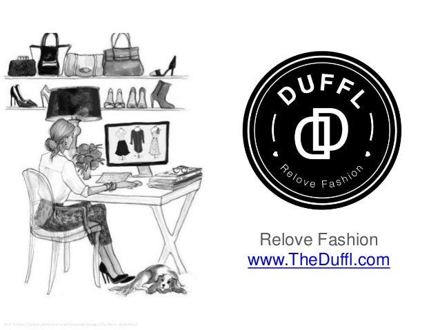 Ref: https://www.pinterest.com/espoet/modest-fashion-sketches/ Relove Fashion www.TheDuffl.com
