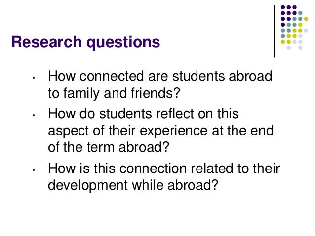 Dating while study abroad