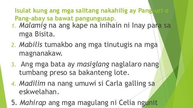 talata ng paglalarawan Web search results for halimbawa ng paglalarawan from webcrawler.