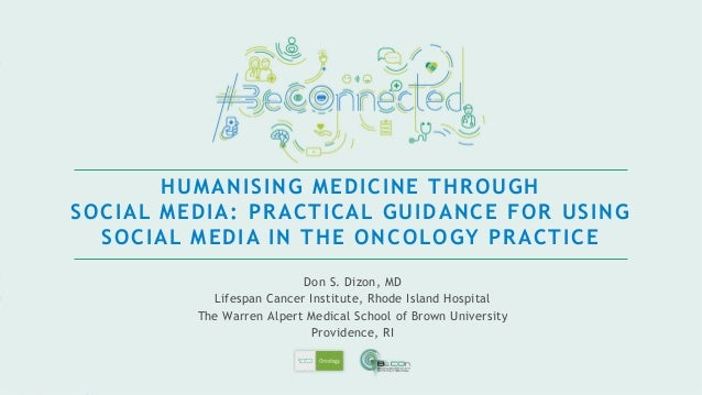 • The digital age is upon us! • Conversations about cancer and about stakeholders are going online – with or without you •...