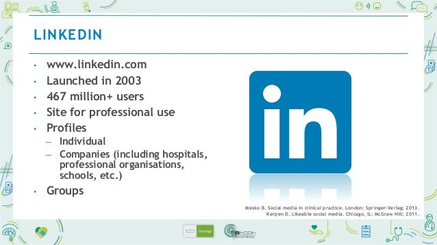 • www.doximity.com • Physician-specific social media site ─ > 70% of US doctors as verified members • CME credit potential...