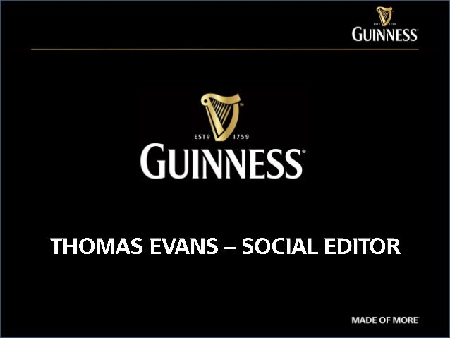 Guinness Facebook Posts 2013 - 2014