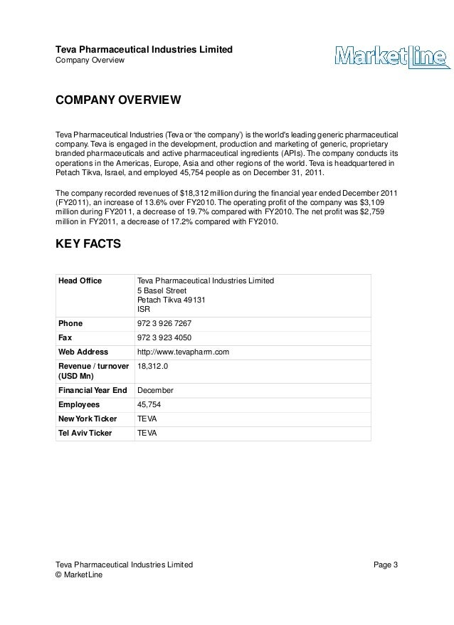 f31e64ee1 Teva pharmaceutical industries limited