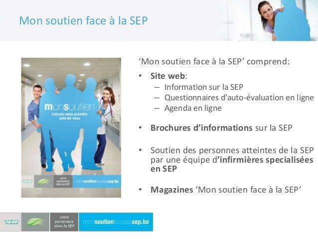 Mon soutien face à la SEPCollaboration avec desexperts en SEP et la LigueSEP dans le cadre de projetsinnovants en soutien ...