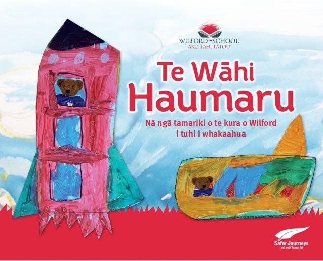 Haumaru Te Wa-hi Nā ngā tamariki o te kura o Wilford i tuhi i whakaahua