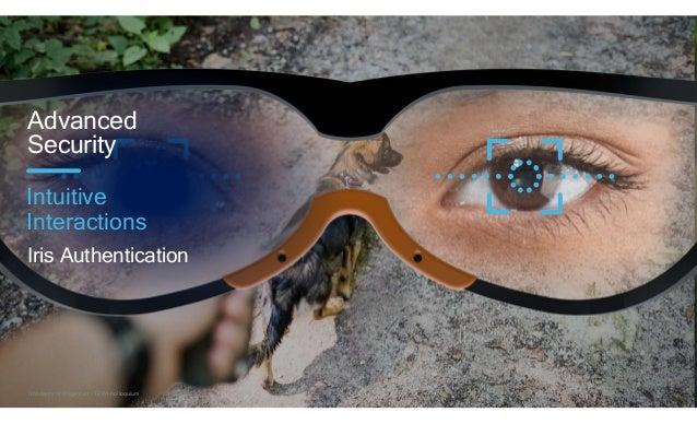 20 Advanced Security Iris Authentication Intuitive Interactions University of Klagenfurt - TEWI-Kolloquium