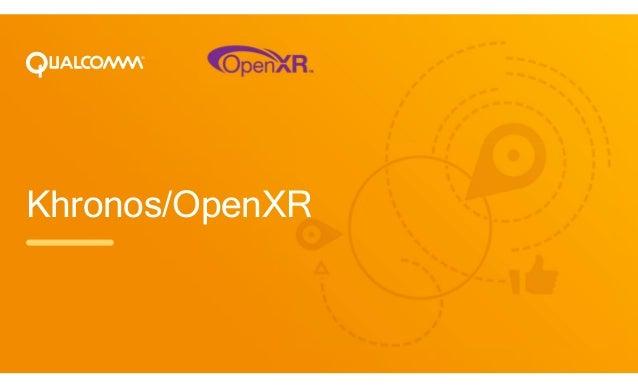 Khronos/OpenXR
