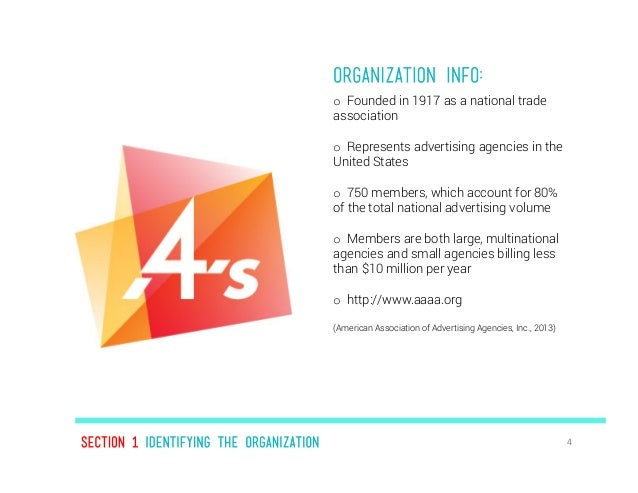 American association of advertising agencies 4a 39 s ist for American ad agencies