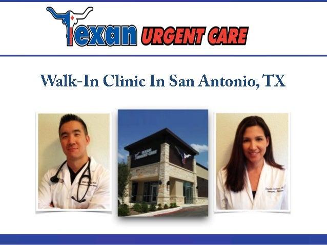 Walk In Clinic In San Antonio Tx