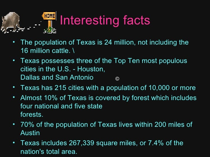 41 Things You Probably Didn't Know About Texas