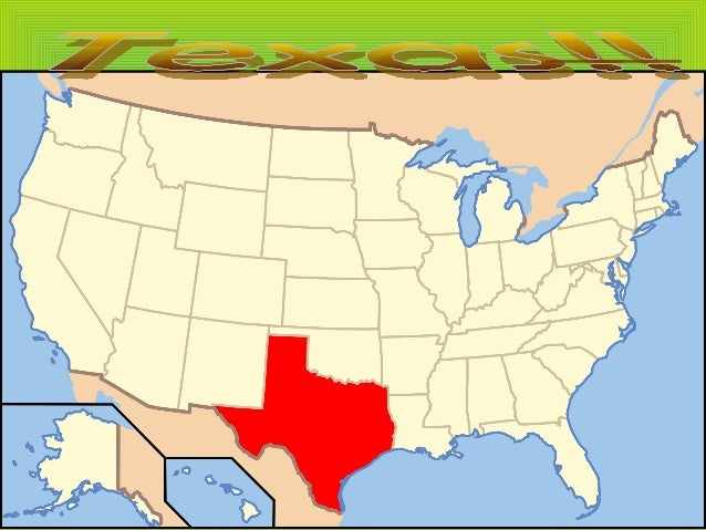 Geographical presentation • Texas is the second largest state in the USA after Alaska. • It is located in the southern par...