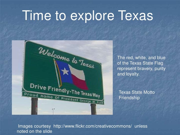Time to explore Texas                                              The red, white, and blue                               ...