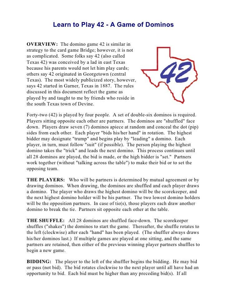 Microsoft Com1 Microsoft Way Redmond: Texas 42 Dominos