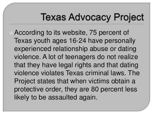legal dating ages in texas