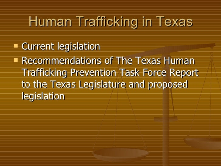 Texas human trafficking texas and federal human - Tecole decorate ...