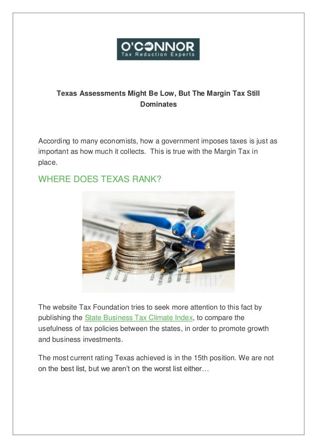 Texas assessments might be low, but the margin tax still