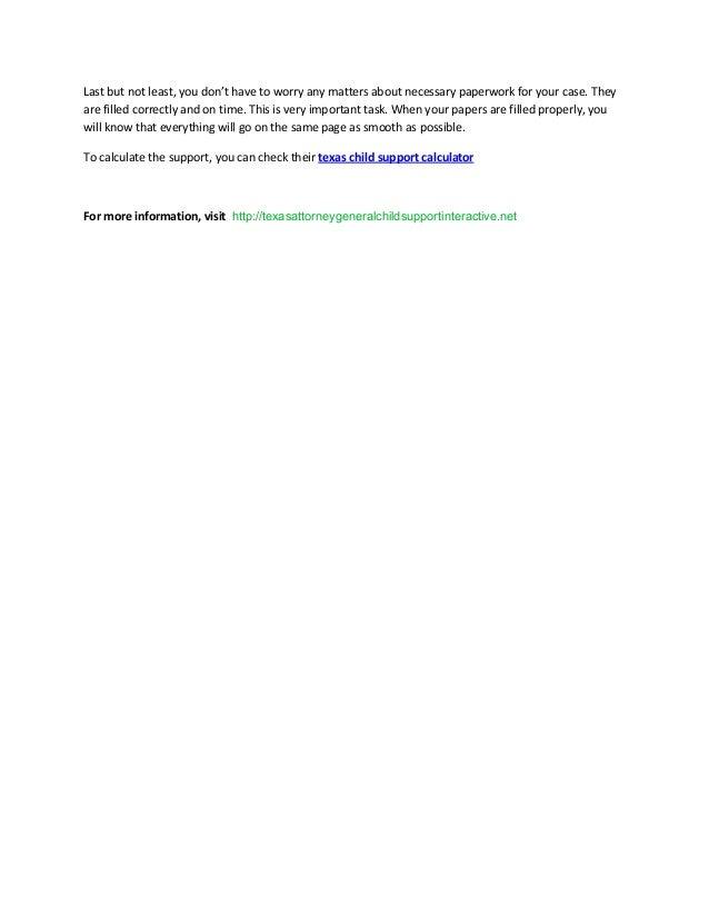 texas attorney general child support login
