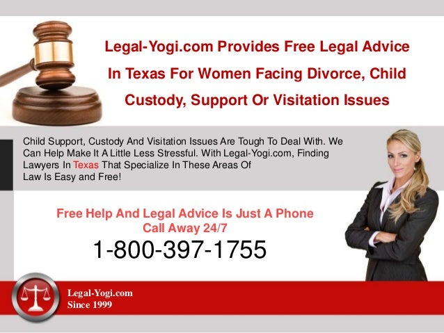 free divorce advise in texas