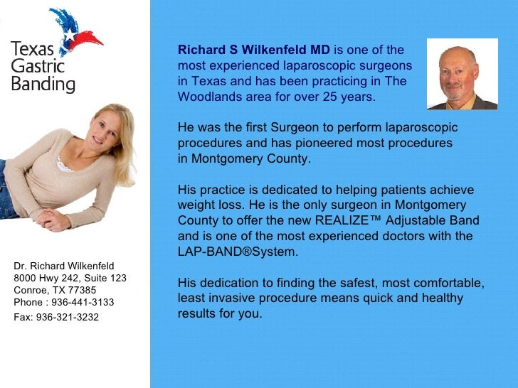 Gastric Banding In Conroe Woodlands Texas