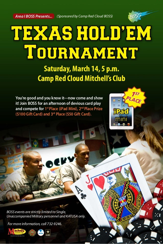 Moose texas holdem tournament