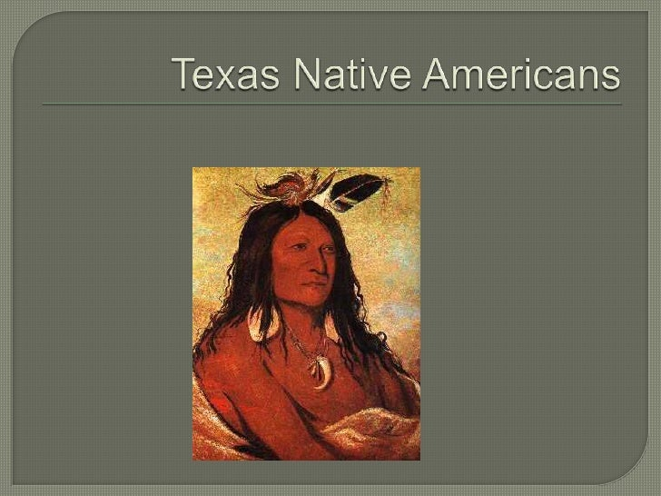 Texas Native Americans<br />