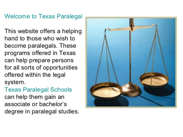 how to become a paralegal in texas