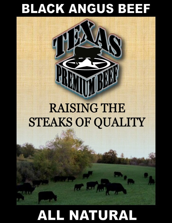 To Order Call: 1-866-231-3687 ext: 5                  Raising the steaks of quality          Do you want to experience the...