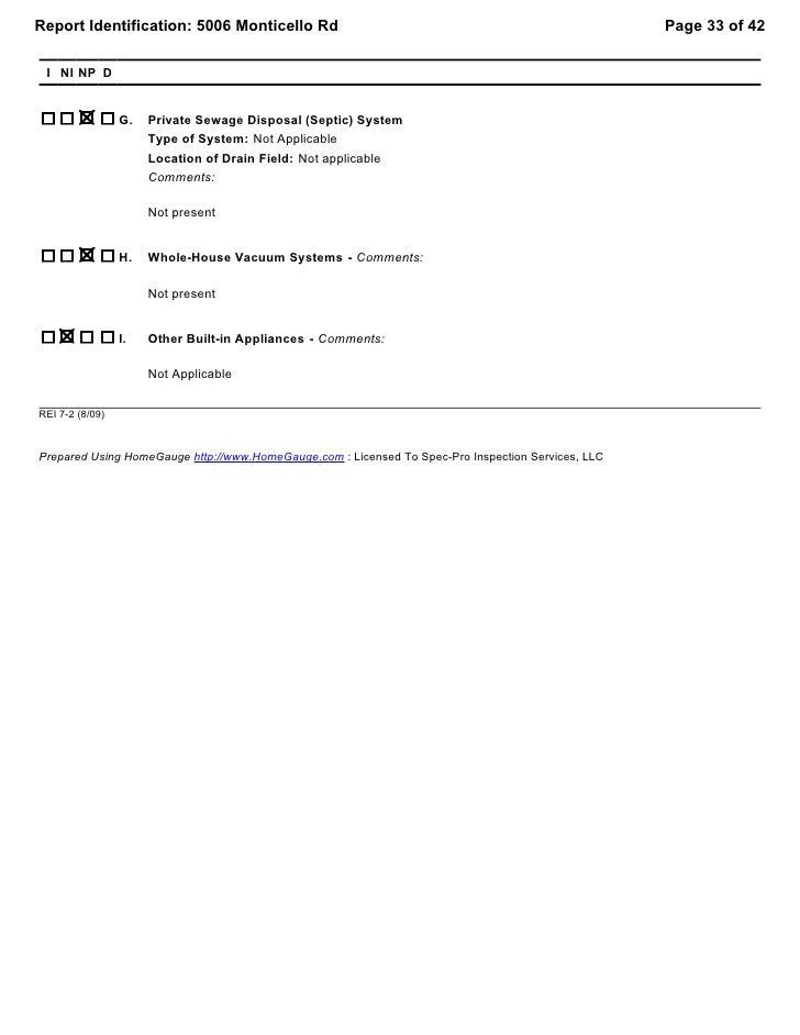 Texas rei7 2 pier & beam sample report