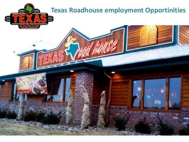texas roadhouse employment application