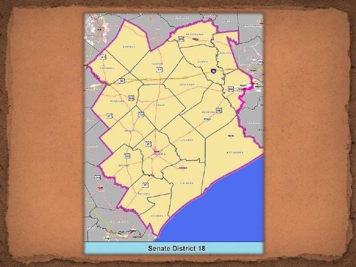 Map Of Texas Senate Districts.Texas Senate District 18 Democrats