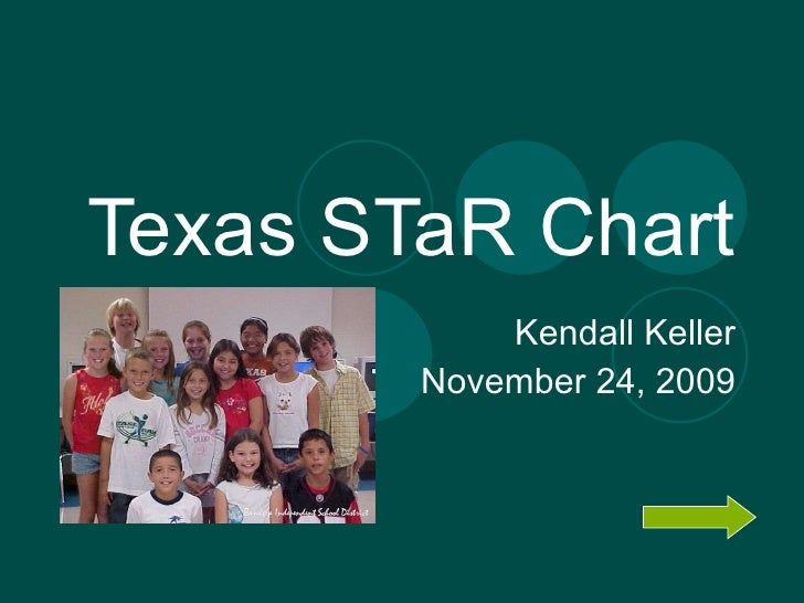 Texas STaR Chart Kendall Keller November 24, 2009