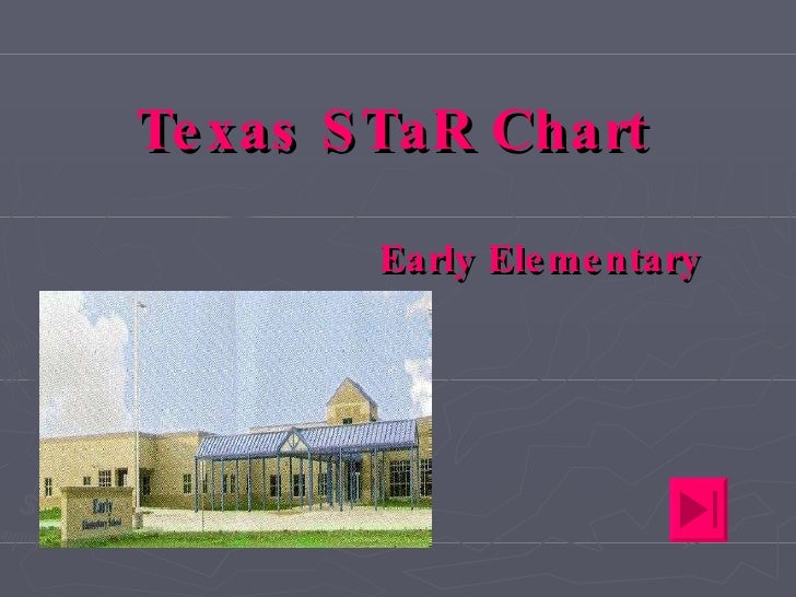 Texas STaR Chart Early Elementary