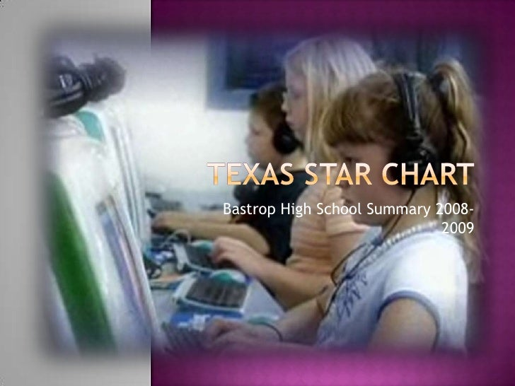 Texas star chart<br />Bastrop High School Summary 2008-2009<br />