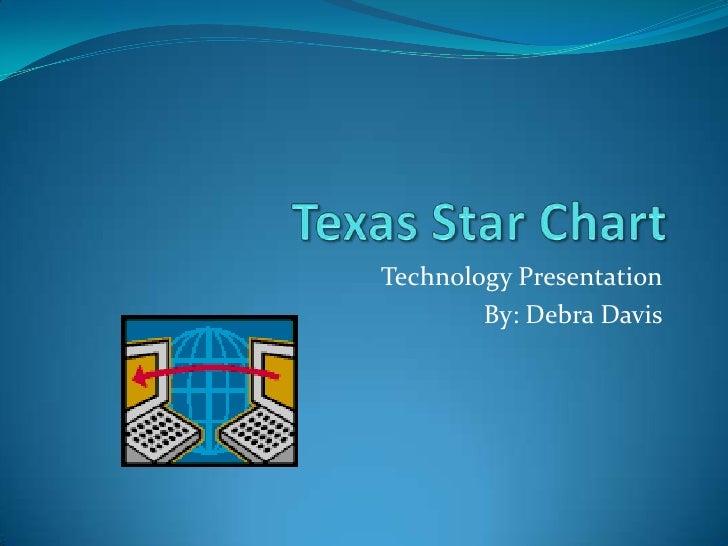 Texas Star Chart<br />Technology Presentation<br />By: Debra Davis<br />