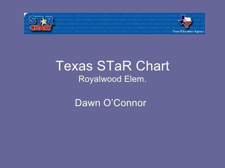 Texas STaR Chart Royalwood Elem. Dawn O'Connor