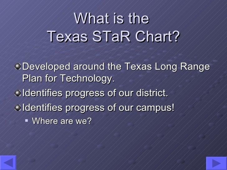 Texas S Ta R Chart Slide 3