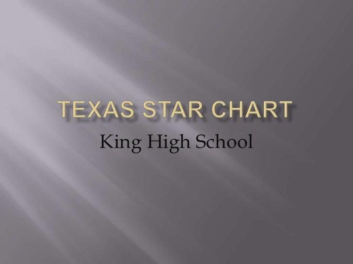 Texas STaR Chart<br />King High School<br />
